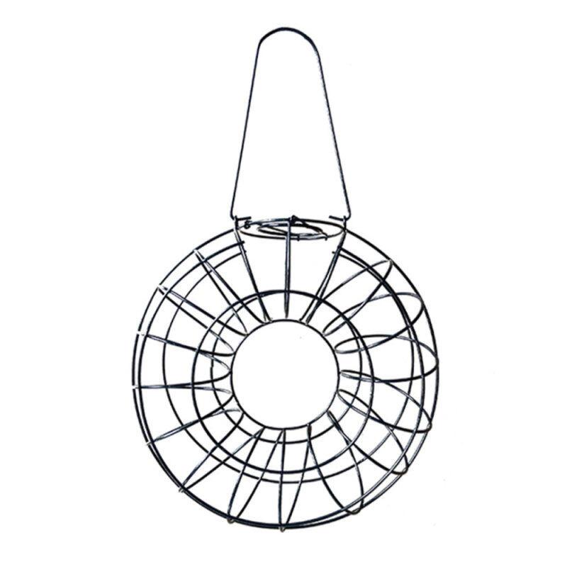[Laurance] Phổ Dụng Cụ Nạp Thức Ăn Cho Chim Lưới Ăn Dây Sắt Vòng Tròn Sóc Chống Treo Ngoài Trời Snack Dispenser Vườn Pet Nguồn Cung Cấp Chim