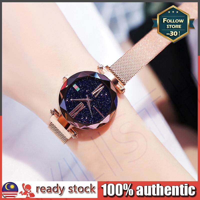 Fashion watches women starry sky Korean version trend waterproof net red same Malaysia