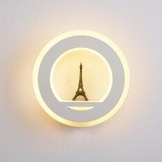 Đèn LED Hình Tháp Dragonpad AC85-265V 19W, Đèn Treo Tường Dùng Cho Phòng Học Lối Đi Phòng Khách – INTL