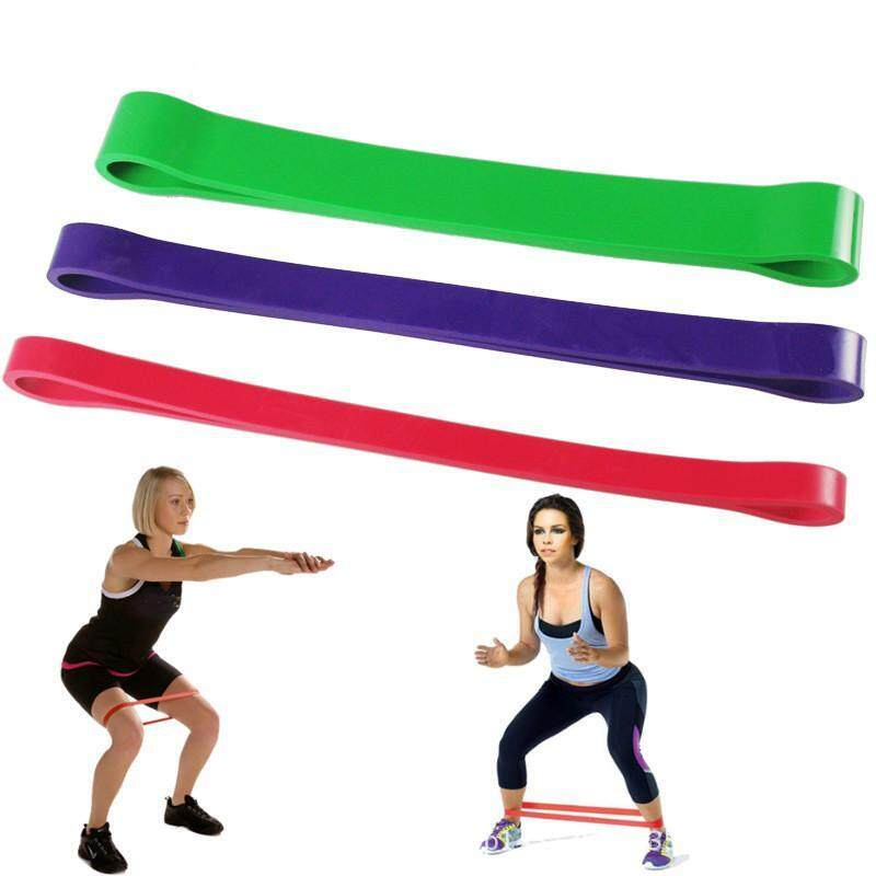 Bảng giá Tandyshop-3Pcs Heavy Duty Resistance Band Loop Exercise Yoga Workout Power Gym Fitness