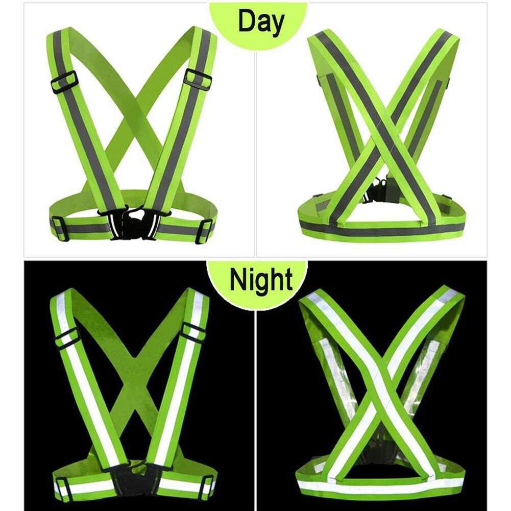 Top Seller Traffic Night Work Security Running Cycling Safety Reflective Vest Jacket