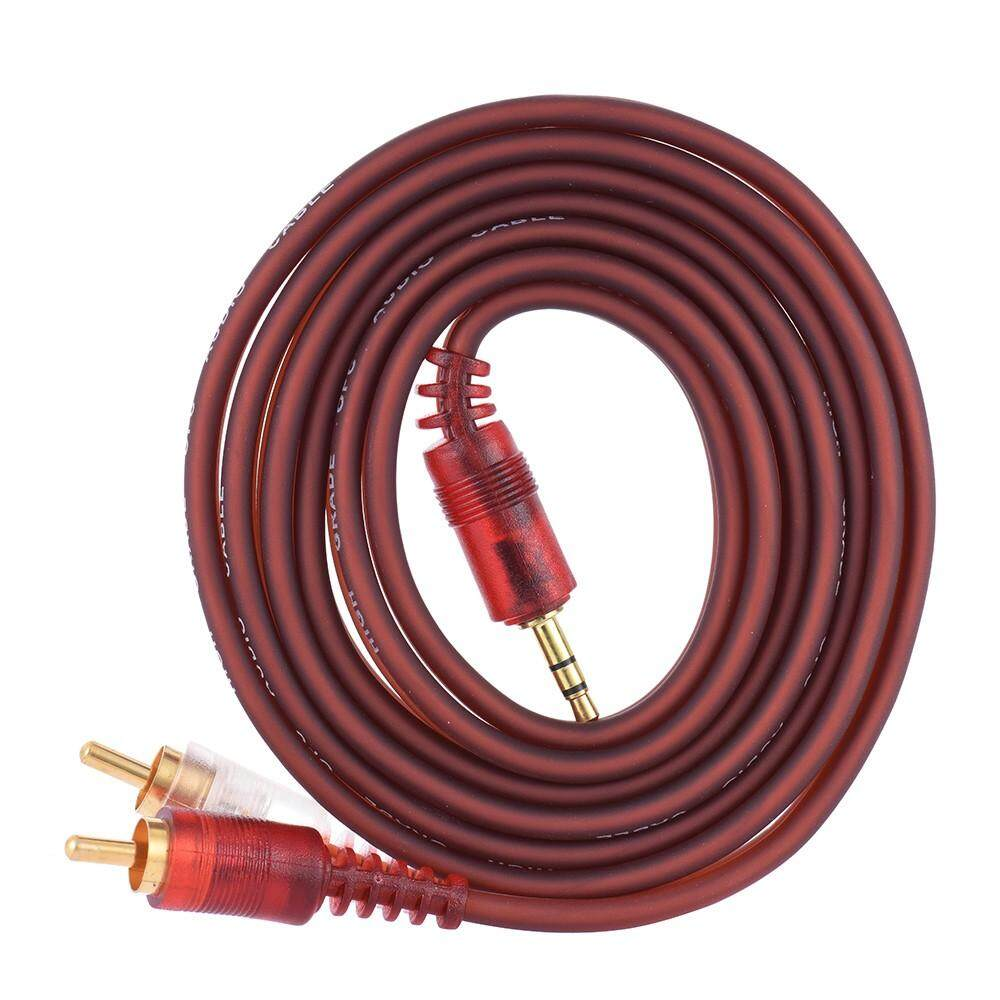 """1.5m / 5ft Stereo Audio Cable Cord Wire 3.5mm 1/8"""" TRS"""