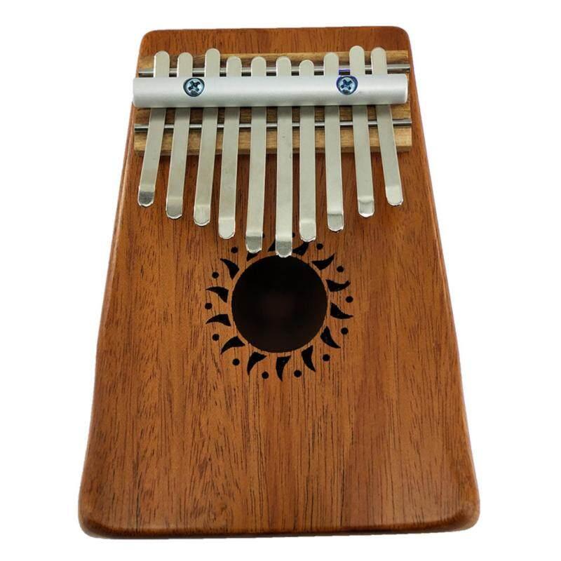 10 Key Kalimba Thumb Piano Mahogany Solid Finger Piano for Music lovers  (Not Specified) Malaysia