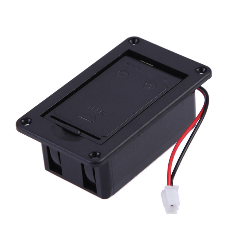 1pc 9V Box For Guitar Bass Pickup (Black) Malaysia