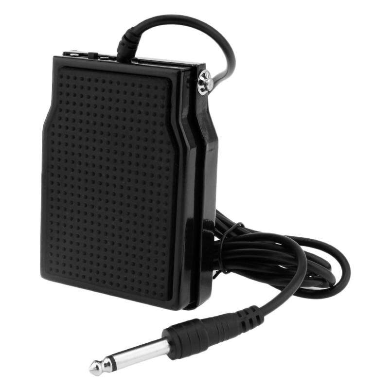 1pc Black Universal Foot Switch Damper Pedal Sustain Pedal Malaysia