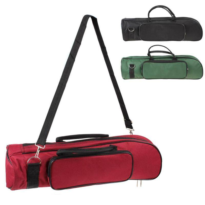 1pc Green Trumpet Bag Soft Cotton with Double Zippers Design For Advanced Plus Malaysia