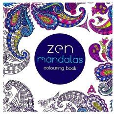 1PCS Zen Mandalas 2016 New Secret Garden An Inky Treasure Hunt And Coloring Book For