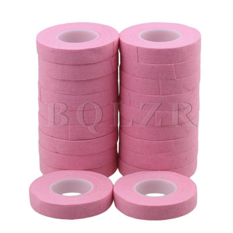 1x500cm Cotton Guitar Guzheng Lute Nail Finger Tape Set of 20 Pink Malaysia