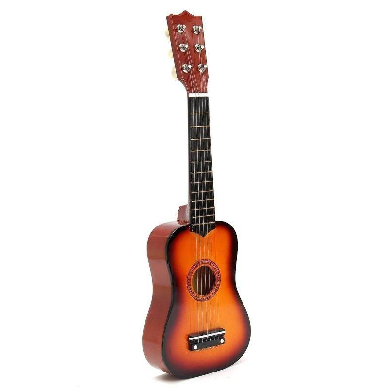 21 Kids Toys Basswood Acoustic Guitar 6 String Practice Music Instruments Children Gifts (8 Color) Malaysia