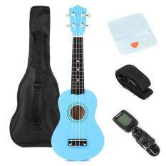 "21"" Traditional Pro Ukulele Beginners Start Pack with Gig bag, Tuner, Strings – intl"