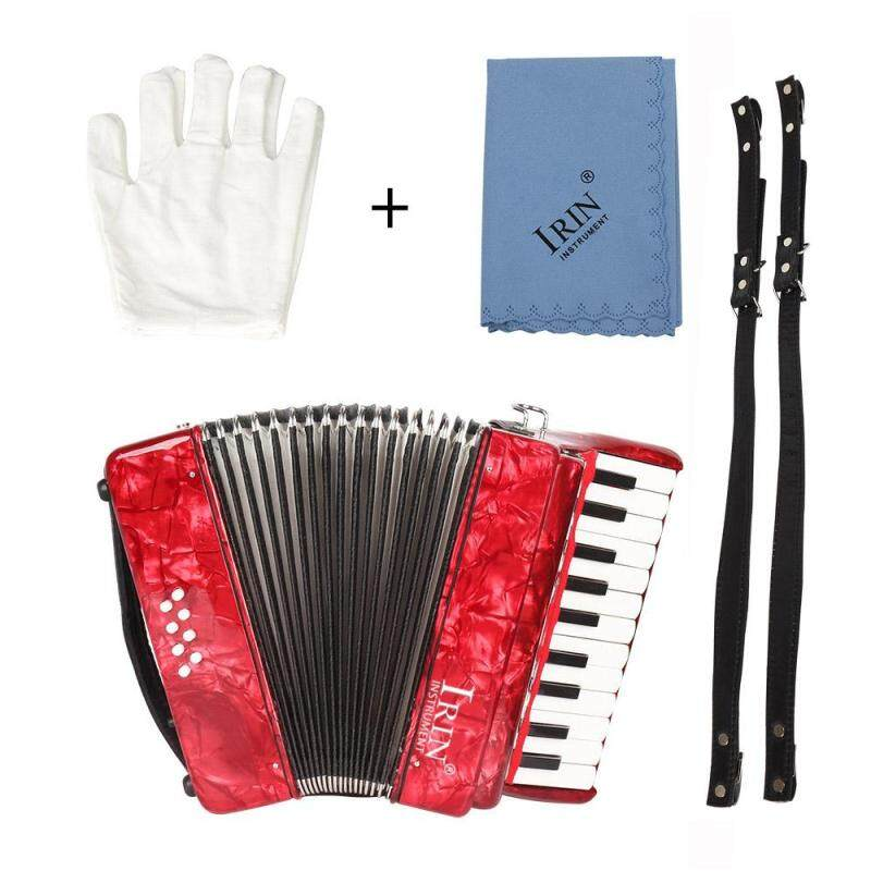 22-Key 8 Bass Piano Accordion with Straps Gloves Cleaning Cloth Educational Music Instrument for Students Beginners Childern Malaysia