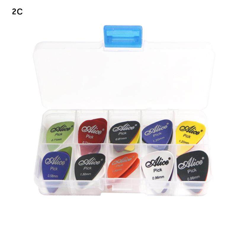 30pcs Acoustic Electric Guitar Picks Plectrum Various thickness + Pick Box Malaysia