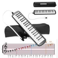 32 Phím Âm Nhạc Điện Tử Bàn Phím Điện Kỹ Thuật Số Đàn Piano Organ Với Túi Đựng