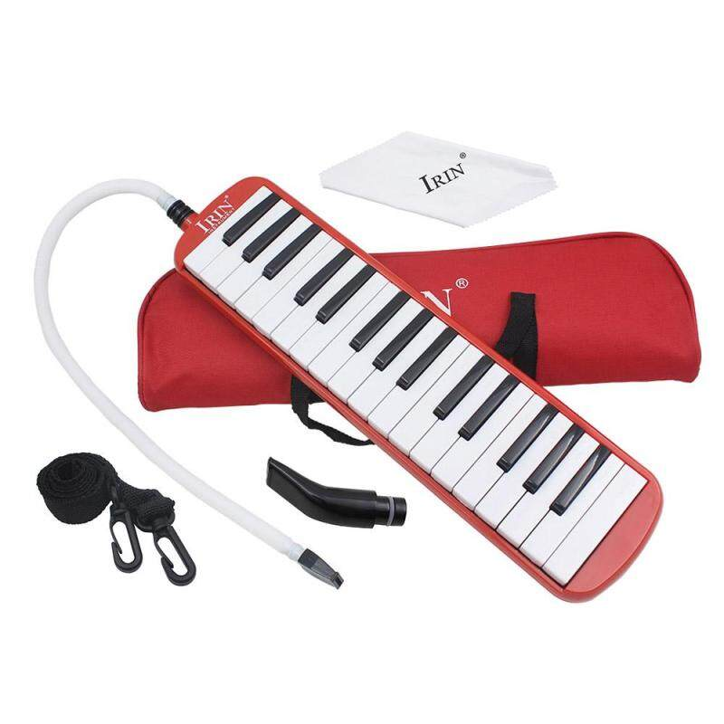32 Piano Keys Melodica Musical Education Instrument for Beginner Kids Children Gift with Carrying Bag Red Outdoorfree Malaysia