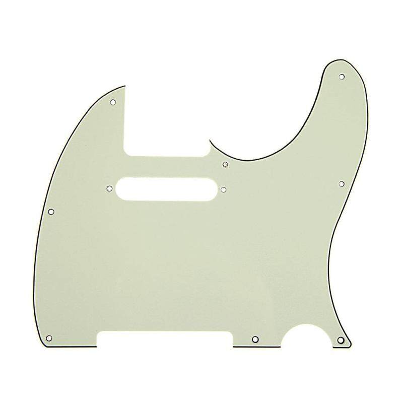 3Ply Aged Pearloid Pickguard Tele Style Guitar Pickguard Aged(Deep green)(Deep green) Malaysia