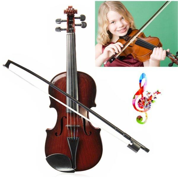 4/4 Full Size kids Simulation Toys Violin Demo Educational Musical Instrument - intl