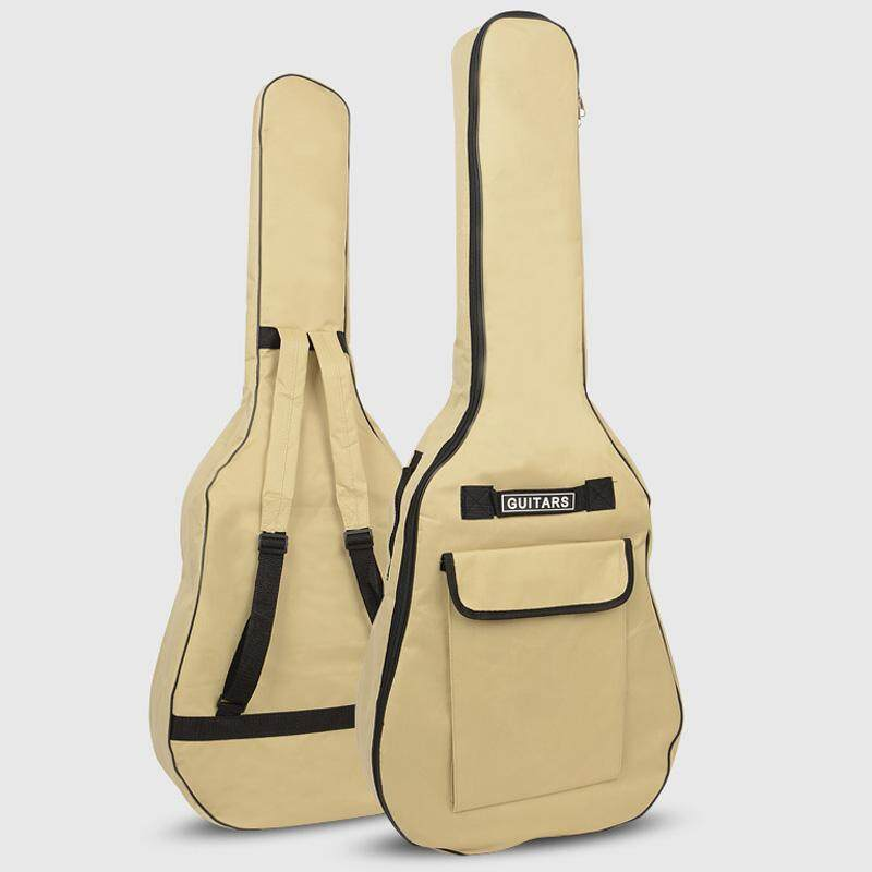 41 inch Acoustic Guitar Padded Thick Gig Bag Beg Gitar Akustik Backpack Hand Carry 600D material Oxford cloth High Quality Malaysia