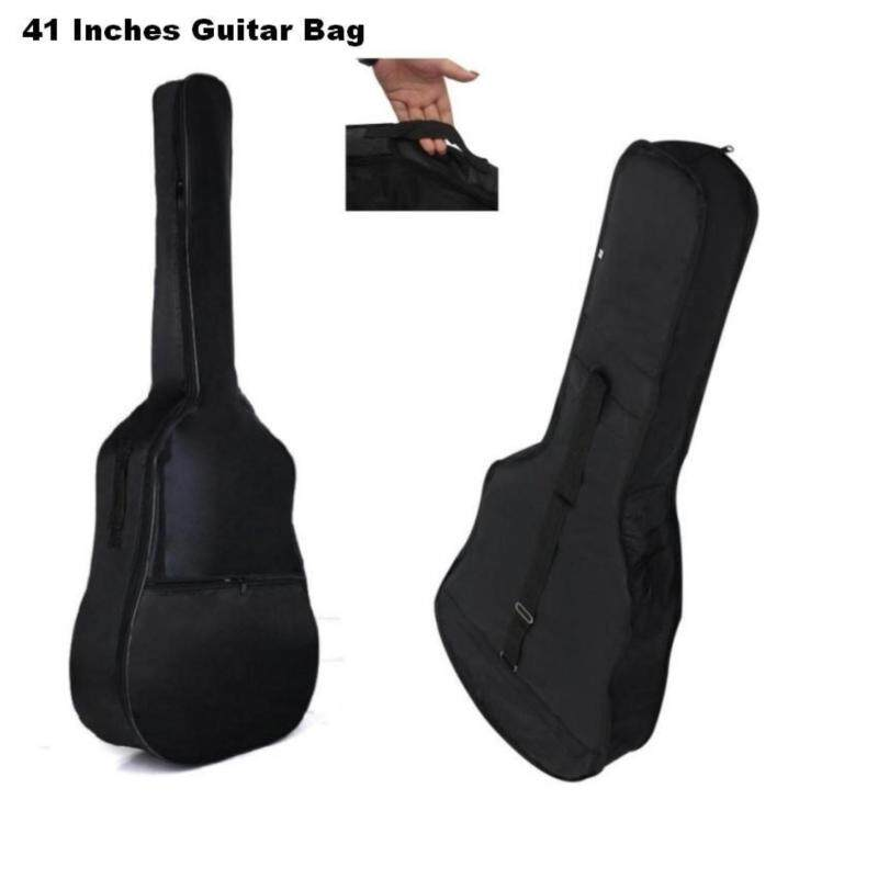 41 Inch Water Proof Guitar Bag with Pocket and Shoulder Backpack Malaysia