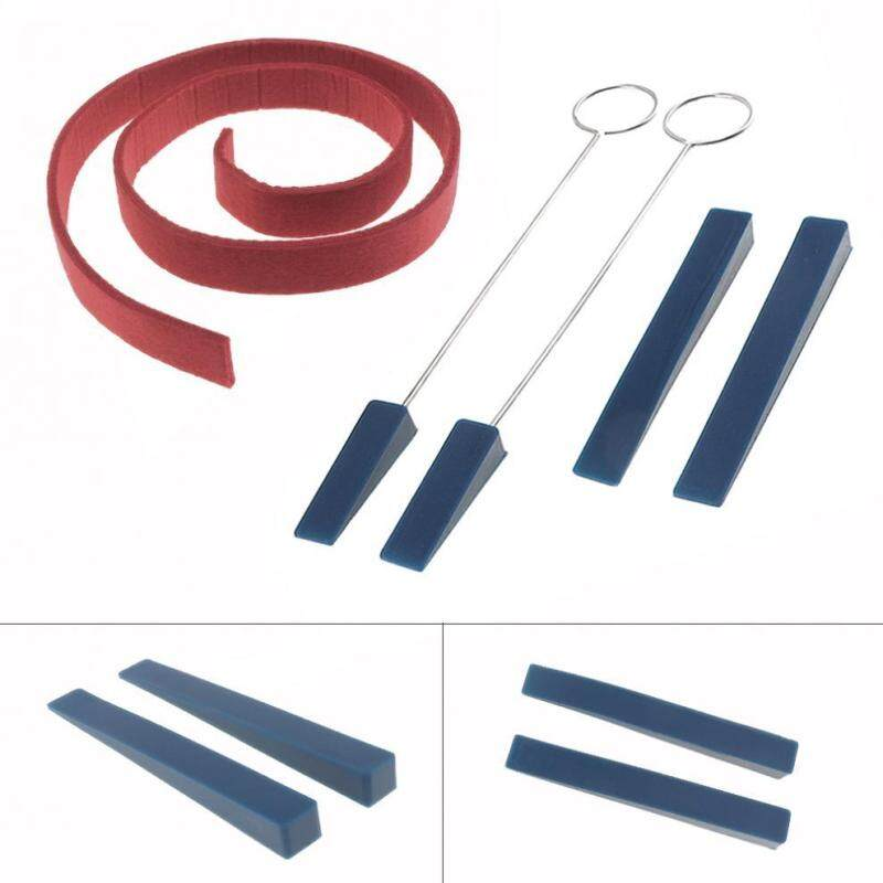 5pcs/set Professional Tuning Mute Kit Temperament Strip & 4 Mutes Tuning Tool Kit Malaysia