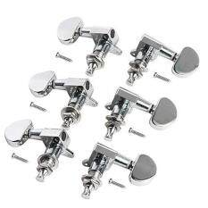 6pcs 3l3r Acoustic Guitar Tuning Pegs Machine Head Tuners Chrome Guitar Parts By Sa Yanyi.