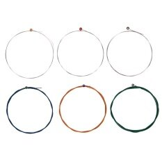 [cheerfulhigh]6pcs Nylon Classical Guitar Strings Full Set Replacement Wire(black)-Nx35-C By Cheerfulhigh.