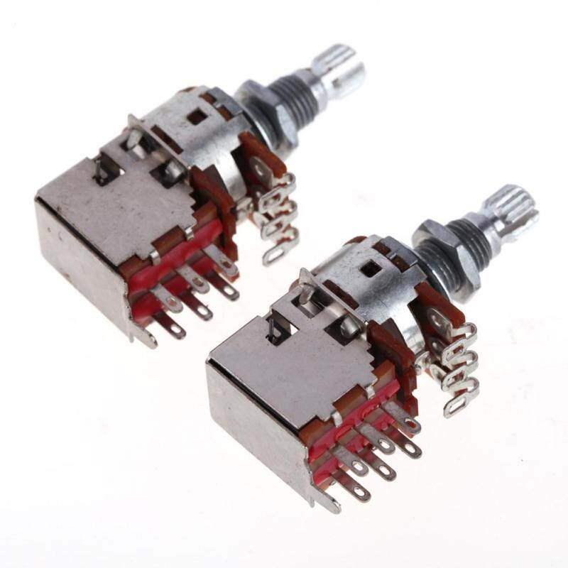 [Cheerfulhigh]A250K+B250K Push Pull Control Pot Potentiometer for Electric Guitar Bass Malaysia