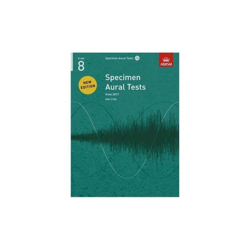 ABRSM SPECIMEN AURAL TESTS - GRADE 8 (2011+) BOOK/2 CDS Malaysia