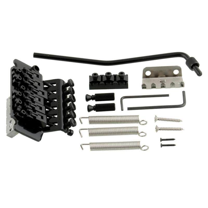 Acoustic Guitar Double Locking Tremolo Bridge System Black Lock For Floyd Rose Malaysia