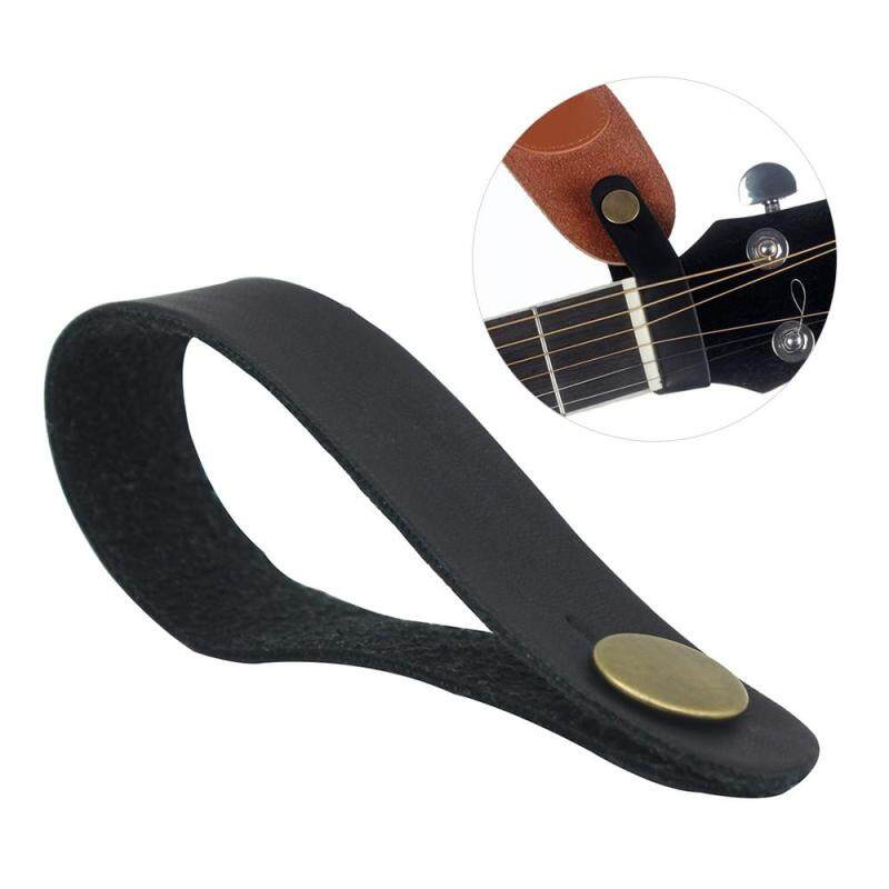Acoustic Guitar Neck Strap Button Headstock Adaptor Synthetic Leather Malaysia