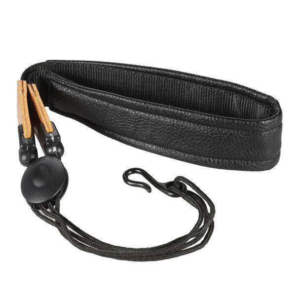 Adjustable Soft Leather Saxophone Sax Neck Strap with EVA Padded Metal Hook Malaysia
