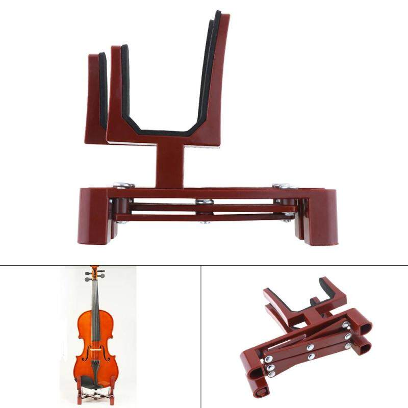 Adjustable Violin Stand Holder Plastic Foldable Extended Violin Accessories with Sponge Pad for 4/4 3/4 1/2 1/4 Violin Malaysia