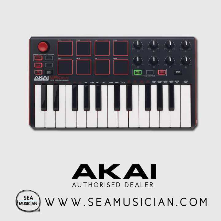 how to set up akai mpk mini