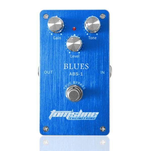 Aroma ABS-1 Blues Distortion Electric Guitar Effect Pedal Aluminum Alloy Housing True Bypass Malaysia