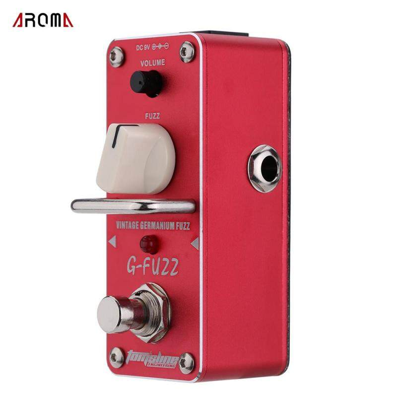 AROMA AGF-3 G-FUZZ Vintage Germanium Fuzz Guitar Effect Pedal Mini Analogue with True Bypass Malaysia