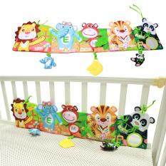 Baby Bed Around And Cloth Book Infant Rattle With Animal Model Baby Educational Plush Animal Story Developing Toys By Evertoner.