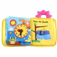 Baby Toy Soft Cloth Books Rustle Sound Infant Educational Toy Newborn Crib Bed Baby Toys By Evertoner.