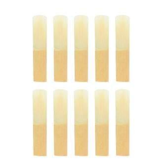 ราคาดีที่สุด Bb Clarinet Traditional Bamboo Reeds Strength 3.0, Box Of 10 ล่าสุด