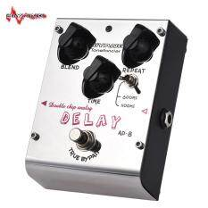 Biyang Ad-8 Tonefacier Series Double Chip Analog Delay Guitar Effect Pedal True Bypass Full Metal Shell By Haitao.