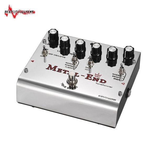 BIYANG METAL-END King High Gain Distortion Effect Pedal Built-in Amplifier Simulator EQ With True Bypass Full Metal Shell Malaysia