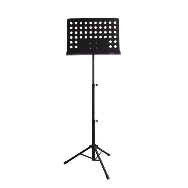 BLW Conductor Music Stand S-CS Suitable for Guitar, Ukulele, Violin, Keyboard, Orchestra and Food Menu Stand (Black) Malaysia