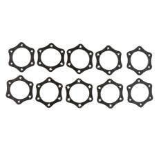 Bolehdeals 10black Hexagonal Mic Slip Holder Roller Wireless Microphone Protection Ring By Bolehdeals.