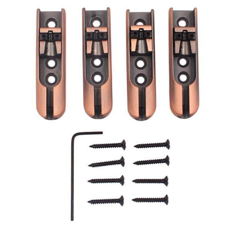 BolehDeals 4 Pieces Single String Guitar Bass Bridge for Bass Guitar Parts Replacement Malaysia