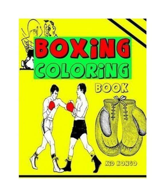 Boxing Coloring Book - intl