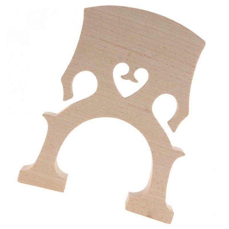 1pc 4/4 Size Wooden Cello Bridge Maple Material Malaysia