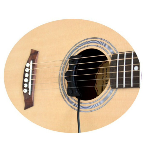 Classical Acoustic Guitar Amplifier Soundhole Pickup 6.3mm Jack 5M Cable Guitar Accessory Malaysia