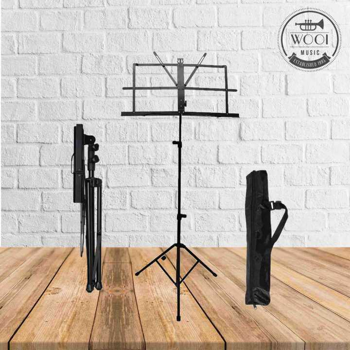 music stand with bag foldable buy sell online others with cheap price lazada. Black Bedroom Furniture Sets. Home Design Ideas