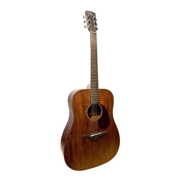 Custom Acoustic 3DE-M Solid Top Full Mahogany Dreadnought Acoustic Guitar Malaysia