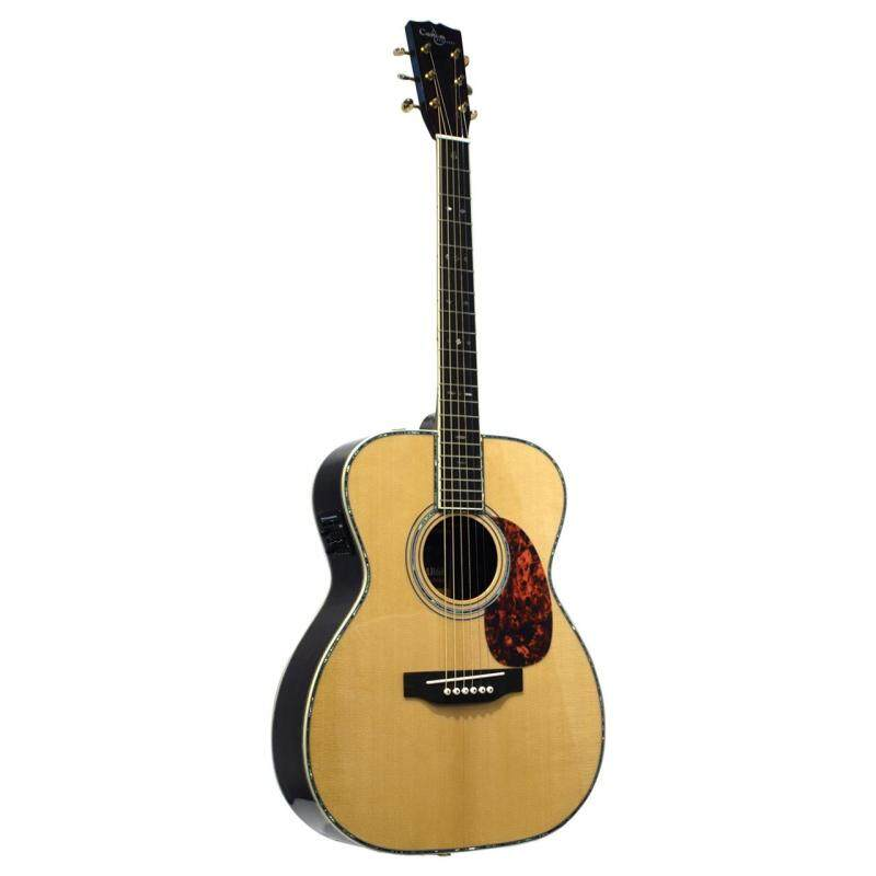 Custom Acoustic MR68 Full Solid Orchestra Acoustic Guitar Malaysia