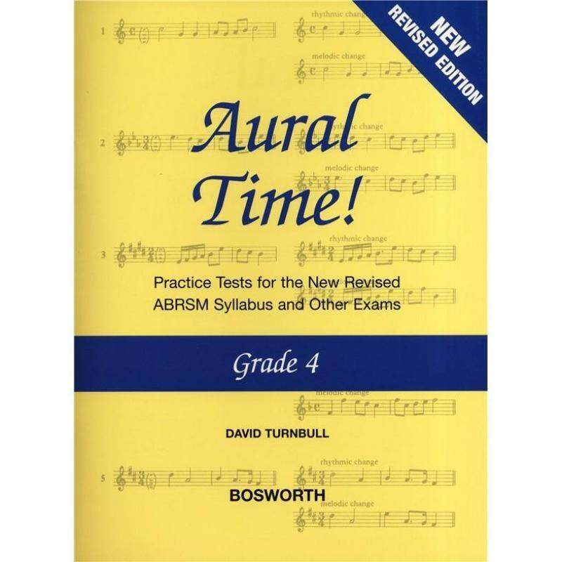 DAVID TURNBULL: AURAL TIME! - GRADE 4 (ABRSM SYLLABUS FROM 2011) Malaysia