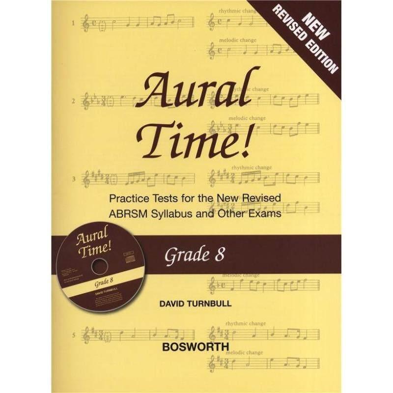 DAVID TURNBULL: AURAL TIME! - GRADE 8 BOOK/CD (ABRSM SYLLABUS FROM 2011) Malaysia
